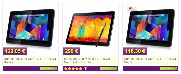 Tablets y E-books a los mejores precios en MyTelecom