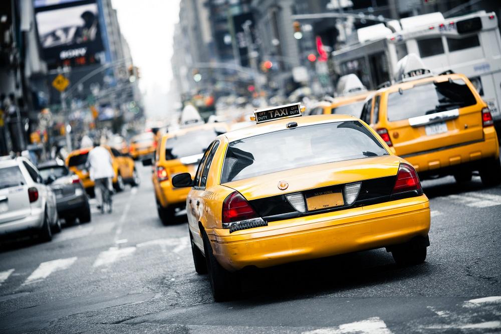un taxi en new york